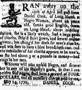 Jul 20 - New-London Gazette slavery 1