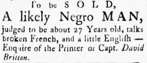 Jul 24 - Essex Gazette slavery 1