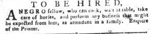 Jul 24 - South-Carolina Gazette and Country Journal slavery 6