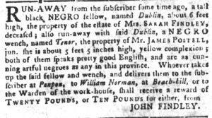 Jul 24 - South-Carolina Gazette and Country Journal slavery 7