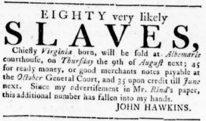 Jul 26 - Virginia Gazette Rind slavery 4