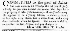 Jul 26 - Virginia Gazette Rind slavery 5