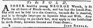 Jun 14 - Pennsylvania Gazette Slavery 2