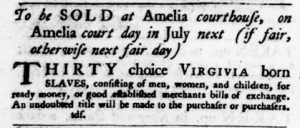 Jun 14 - Virginia Gazette Purdie and Dixon Slavery 2