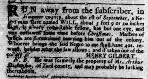 Jun 14 - Virginia Gazette Rind Slavery 3
