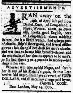 Jun 15 - New-London Gazette Slavery 1