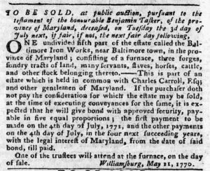 Jun 18 - Pennsylvania Chronicle and Universal Advertiser Slavery 2