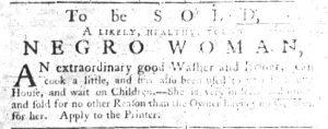 Jun 21 - South-Carolina Gazette Slavery 10