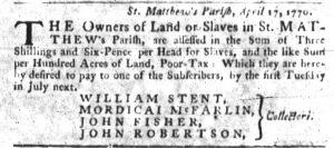 Jun 21 - South-Carolina Gazette Slavery 6