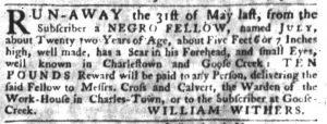 Jun 21 - South-Carolina Gazette Slavery 7