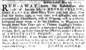 Jun 21 - South-Carolina Gazette Slavery 8