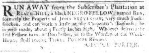 Jun 21 - South-Carolina Gazette Slavery 9
