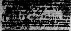 Jun 21 - Virginia Gazette Purdie and Dixon Slavery 3