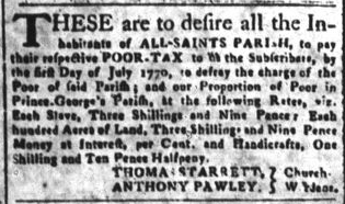 Jun 22 - South-Carolina and American General Gazette Slavery 2