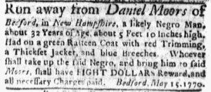 Jun 25 - Boston Evening-Post Supplement Slavery 2