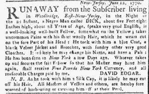 Jun 25 - New-York Gazette or Weekly Post-Boy Slavery 2