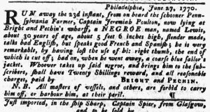 Jun 28 - Pennsylvania Gazette slavery 2