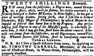 Jun 28 - Pennsylvania Gazette slavery 5