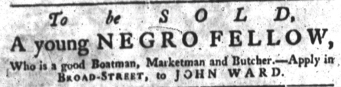 Jun 28 - South-Carolina Gazette slavery 2