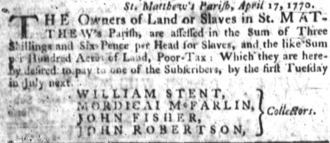 Jun 28 - South-Carolina Gazette slavery 5