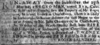 Jun 28 - South-Carolina Gazette slavery 6