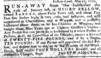 Jun 28 - South-Carolina Gazette slavery 8