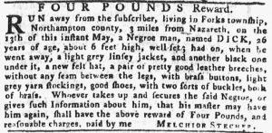 Jun 7 - Pennsylvania Gazette Supplement Slavery 1