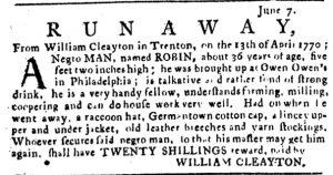 Jun 7 - Pennsylvania Journal Slavery 1