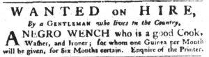 Jun 7 - South Carolina Gazette Slavery 2