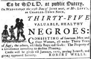 Jun 7 - South Carolina Gazette Slavery 4