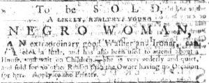 Jun 7 - South Carolina Gazette Slavery 5