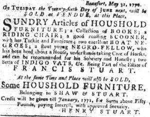 Jun 7 - South Carolina Gazette Slavery 6