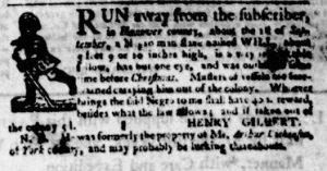 Jun 7 - Virginia Gazette Purdie and Dixon Slavery 4