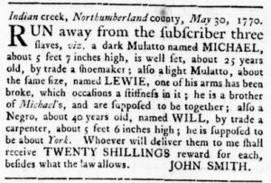 Jun 7 - Virginia Gazette Rind Slavery 1