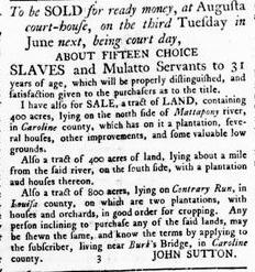 Jun 7 - Virginia Gazette Rind Slavery 4