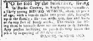 Nov 13 - Pennsylvania Chronicle Slavery 1