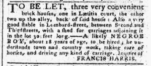 Nov 13 - Pennsylvania Chronicle Slavery 2