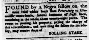 Nov 16 - Virginia Gazette Rind Slavery 2