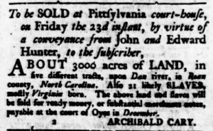 Nov 16 - Virginia Gazette Rind Slavery 4