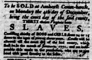 Nov 16 - Virginia Gazette Rind Slavery 5