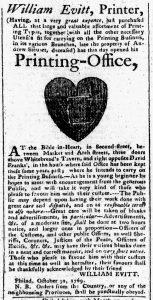 Nov 23 - 11:6:1769 Pennsylvania Chronicle
