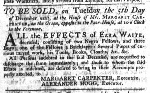 Nov 23 - South-Carolina Gazette Slavery 2