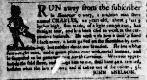 Nov 23 - Virginia Gazette Purdie and Dixon Slavery 3