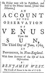 Nov 25 - 11:25:1769 Providence Gazette