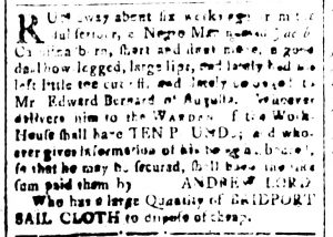 Nov 27 - South-Carolina and American General Gazette Slavery 11