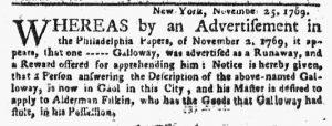 Nov 30 - 11:30:1769 New-York Journal