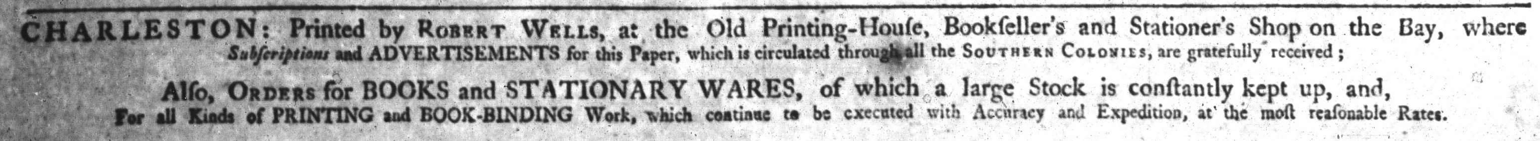 Nov 7 - 11:7:1769 South-Carolina and American General Gazette.jpg