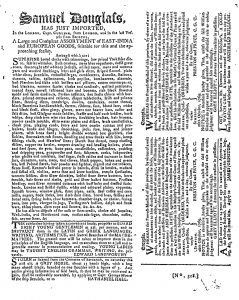 Nov 8 - 11:8:1769 Georgia Gazette