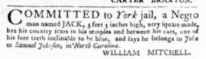 Nov 9 - Virginia Gazette Purdie and Dixon Slavery 4