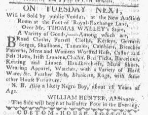 Dec 11 - Boston-Gazette Slavery 1